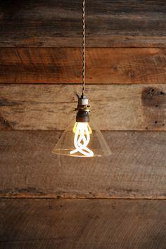 Compact fluorescent Plumen Bulb. $50.00, via Etsy.