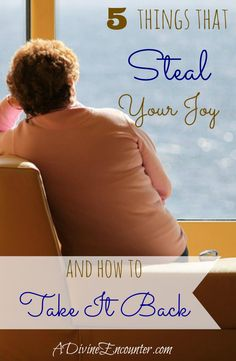 Honest post reveals five common joy stealers for Christians, and offers ideas for taking back your joy!