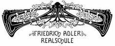 Friedrich Adler Realschule, Laupheim - Logo based on Friedrich Adler's design