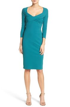 Free shipping and returns on Chiara Boni La Petite Robe Attilia Sheath Dress at Nordstrom.com. Intensely flattering in dense, stretchy Italian jersey with ruched crisscrossed cups to sculpt your figure.