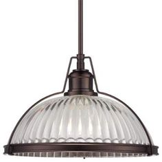 """View the Minka Lavery 2243-267C 1 Light 10"""" Height Indoor Full Sized Pendant in Dark Brushed Bronze at LightingDirect.com."""