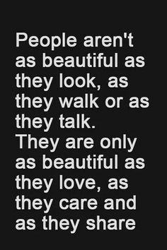 love. care. share. #beautiful