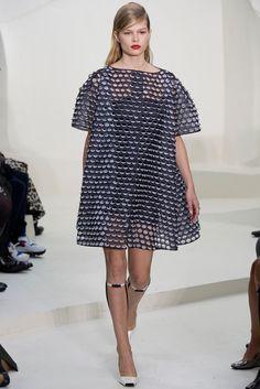 Christian Dior Spring 2014 Couture Fashion Show - Anna Ewers (Women)