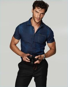 Aurélien Muller | Men's Health España | 2018 | Denim Editorial