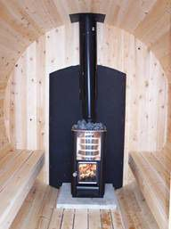 Barrel Sauna - enjoy relaxing and healthy saunas in Canadian-made easy DIY kit of Cedar barrel Sauna Saunas, Mobile Sauna, Portable Sauna, Barrel Sauna, Outdoor Sauna, Sauna Design, Finnish Sauna, Diy Sauna, Sauna Ideas