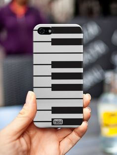Inspired Cases Piano keys Keyboard Design for iPhone 5s Case http://www.inspiredcases.com/ #InspiredCases #phonecases #Phoneaccessories #Keyboard #music
