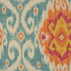Duralee 42256-192 FLAME Fabric