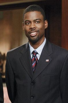 """Chris Rock as President Gilliam in """"Head of State (2003)"""