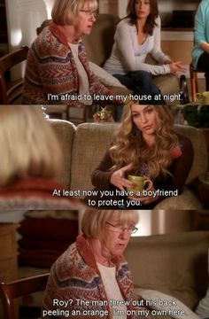 I'm afraid to leave my house at night ~ Desperate Housewives Quotes ~ Season 6, Episode 9: Would I Think of Suicide?