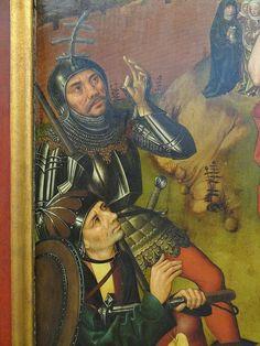 ca. 1490 - 'Resurrection, Angst Altarpiece' (Meister des Angst-Altars), Katharinenkirche, Nürnberg, Germanisches Nationalmuseum, Nürnberg, Bayern, Germany | von roelipilami