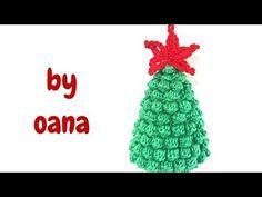 Albero Di Natale Alluncinetto Semplicissimo.Albero Di Natale All Uncinetto Semplicissimo Youtube Alberi Di
