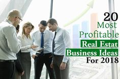 20 Most Profitable Real Estate Business Ideas For 2020 Real Estate Business, Business Ideas