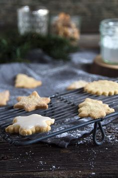 Weihnachtliche Butterplaetzchen