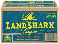 LandShark Lager - how perfect is this for a surf birthday party!?