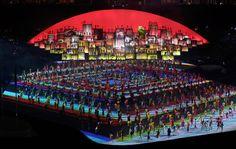 Cerimônia de abertura dos Jogos Olímpicos Rio 2016 no Maracanã