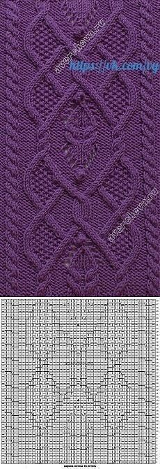 68 ideas for knitting stitches cable tricot Cable Knitting Patterns, Knitting Stiches, Knitting Charts, Lace Knitting, Knitting Designs, Knit Patterns, Knitting Projects, Stitch Patterns, Knitting Tutorials