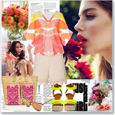 Life shrinks or expands in proportion to ones courage. by lidia-solymosi on Polyvore