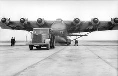 The Giant of WWII- Messerschmitt Me 323 Gigant  was the  largest land-based transport aircraft of the war - https://www.thevintagenews.com/2016/02/03/the-giant-of-wwi-me-323-was-the-largest-land-based-transport-aircraft-of-the-war/
