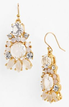 Gorgeous chandelier earrings by kate spade new york