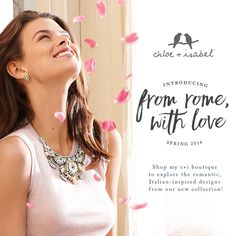 New arrivals! Fall in love with our Spring 2016 collection, inspired by a romantic getaway in The Eternal City!