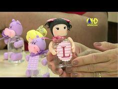 Vida com Arte | Lembrancinha para Festa em biscuit por Angela Rocha - 01...
