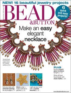 094 Bead & Button Magazine, 2009 December, #94 (Used) at Sova-Enterprises.com