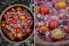 Beet Quinoa Tabouli
