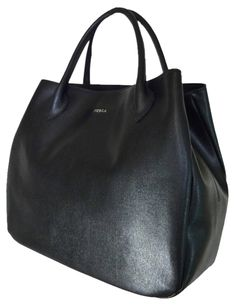Furla Saffiano Leather Large Giselle Black Tote Bag. Get one of the hottest styles of the season! The Furla Saffiano Leather Large Giselle Black Tote Bag is a top 10 member favorite on Tradesy. Save on yours before they're sold out!