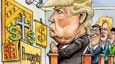 Why evangelicals love Donald Trump    The secret lies in the prosperity gospel
