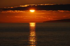 Hall's Harbour July Sunset, Bay of Fundy (by Colleen George)