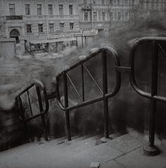 Untitled (Crowd 2) Vasileostrovskaya Metro Station St. Petersburg Russia Alexey Titarenko Photograph 1993