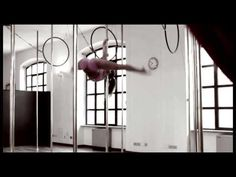 Gorgeous performance & what a stunning studio space! Pole dancing makes for a great workout!