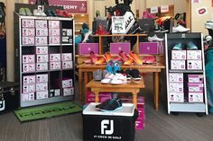 A woman can never have enough shoes!  Come check out this amazing SALE in our Pro Shop.  Non-Members welcome.