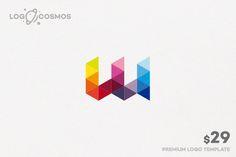 Webbing Letter W Logo by Logo Cosmos on Creative Market