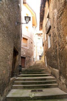 Medieval Town, Baga, Spain