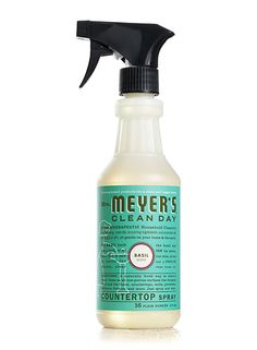 Best Smelling Cleaner. Ever. Basil Countertop Spray from Mrs. Meyer's