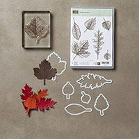 Vintage Leaves Photopolymer Bundle by Stampin' Up! $43.25