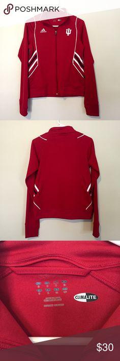 Authentic IU Adidas Full Zip EUC Adidas jacket with pockets! Adidas Jackets & Coats
