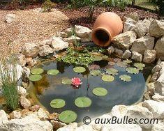Bassin de jardin, la conception et les conseils pratiques