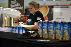 While at the SA Barista Champs this past weekend I learnt a lot about Almond Breeze Barista Blend. This almond milk is a great alternative for coffee drinkers AND unlike their plain almond milk sel… Almond Breeze, Milk Alternatives, Coffee Drinkers, Barista, Almond Milk, Cake, Food Cakes, Cakes, Tart