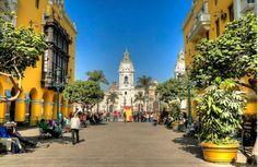 The Historical Center of Lima, Perú  ¿Te interesa la arquitectura y el urbanismo? Te esperamos en www.arquirecursos.com