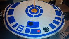 Cool R2-D2 Tree Skirt for a Star Wars tree some day