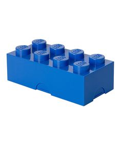 Another great find on #zulily! LEGO Bright Blue Lunch Box by LEGO #zulilyfinds