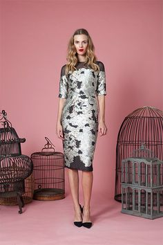 Another great look from Lela Rose.  Look 25 Pre-Fall 2014