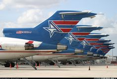 Amerijet Boeing 727-233/Adv(F) freighters