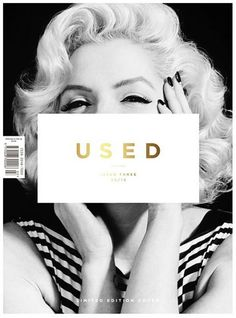 Used - front design cover.