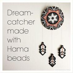 Dreamcatcher hama beads by reginehoen