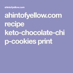 ahintofyellow.com recipe keto-chocolate-chip-cookies print
