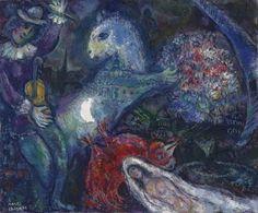'La Nuit Enchantée', 1964 - Marc Chagall (1887–1985)