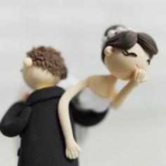 Super Cute - Cake Topper,cute wedding ideas,wedding cake idea,wedding ideas,Outdoor Wedding Inspiration